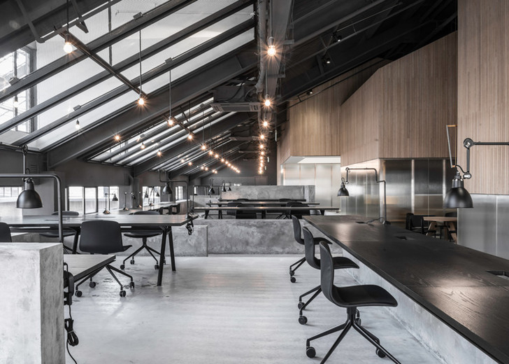 Офис компании Flamingo, Шанхай, проект студии Neri & Hu
