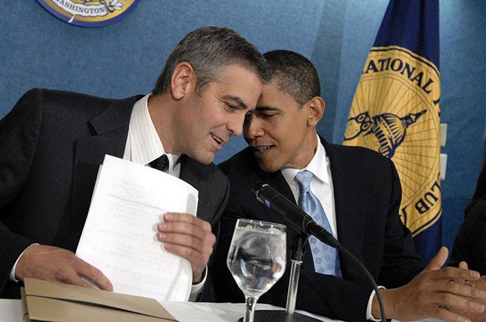 Джордж Клуни может стать президентом фото
