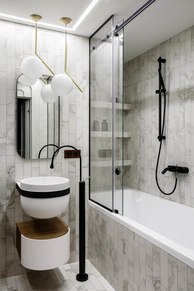 Цвет в ванной комнате: советы эксперта (фото 12)
