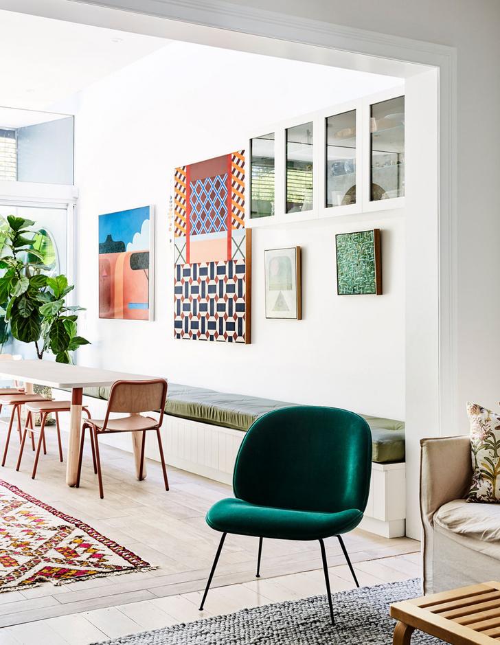 Красочный дом в пригороде Сиднея (фото 5)