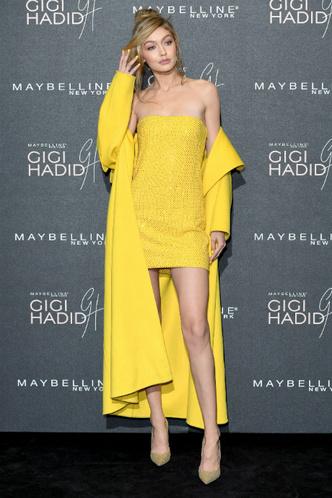 Джиджи Хадид на вечеринке Maybelline в Лондоне фото [7]
