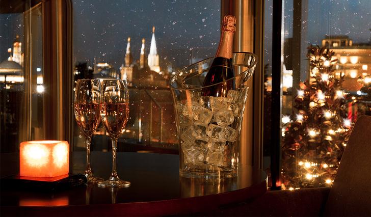 Планы на новогоднюю ночь: утонченные ужины в лучших отелях Москвы (фото 13)