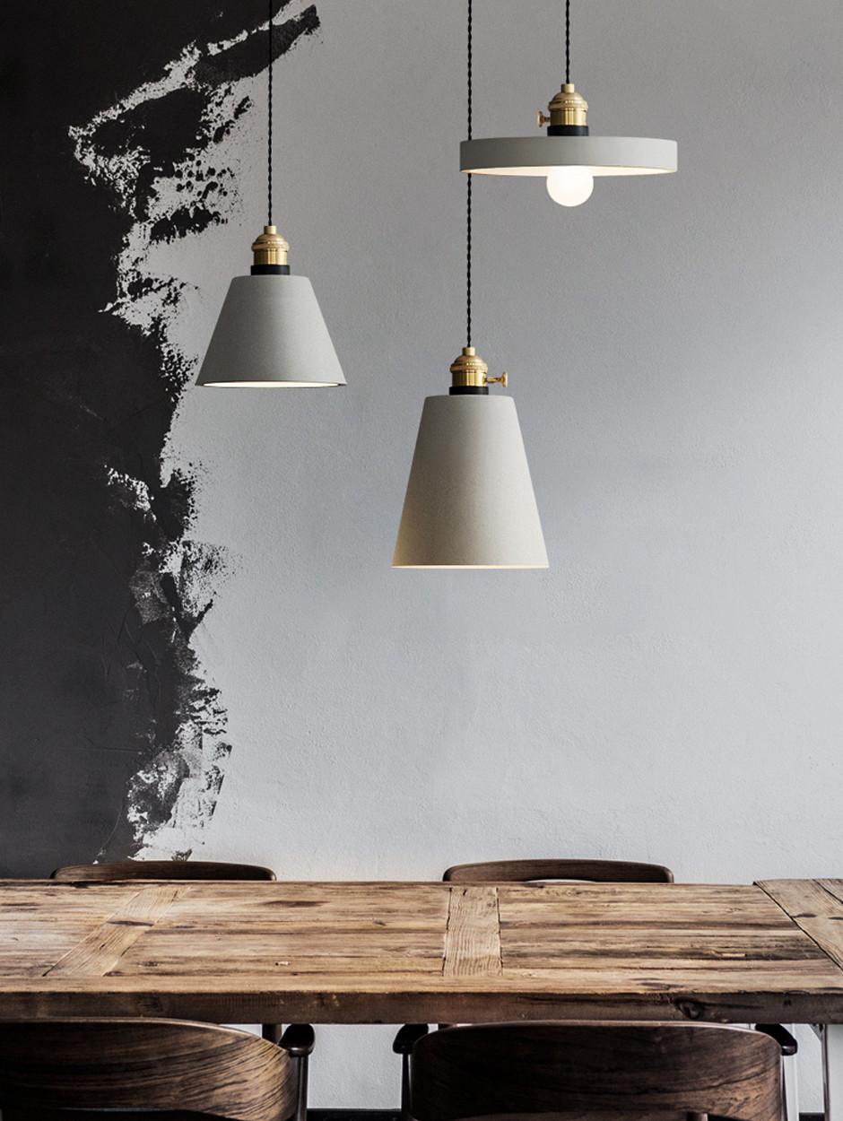 Бетонные светильники | галерея [3] фото [3]