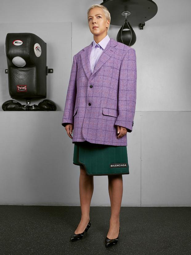 Интеграция мужского гардероба в женский (фото 5)