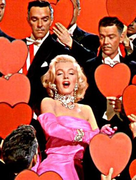 Кадр из фильма «Джентльмены предпочитают блондинок»