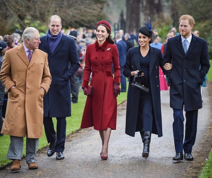 Фото №1 - Королевская оттепель: Меган Маркл и Кейт Миддлтон обменялись рождественскими подарками