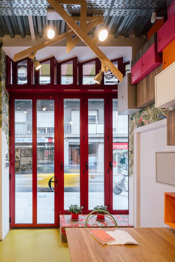Яркий коворкинг в духе архитектуры Гауди (галерея 10, фото 1)