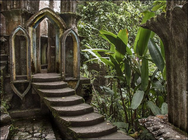 Las Pozas: cюрреалистический парк в мексиканских джунглях (галерея 12, фото 4)
