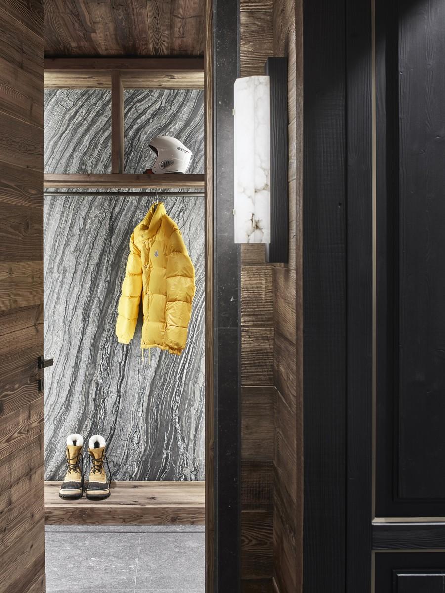Горное шале в Гштаде по проекту Humbert & Poyet (галерея 14, фото 1)