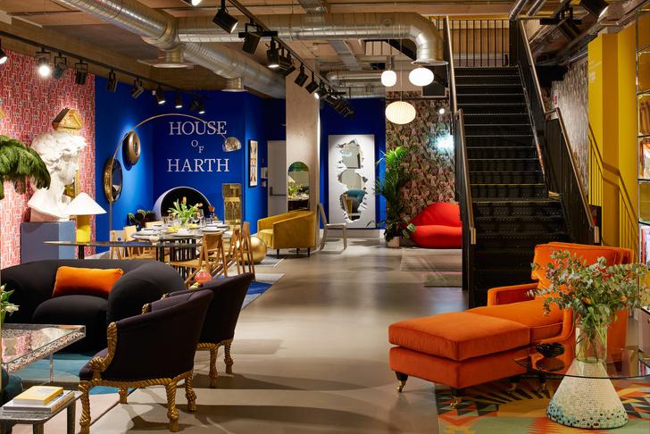 Интерьерный pop-up бутик House of Harth в Лондоне (фото 11)