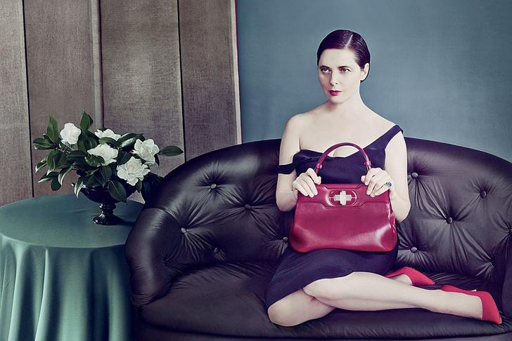Изабелла Росселлини в рекламной кампании Bvlgari