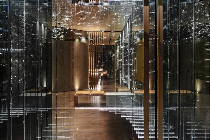Современный японский ресторан по проекту Маурицио Лаи (фото 2)