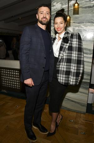 Джастин Тимберлейк и Джессика Бил на премьере в Калифорнии (фото 0.1)