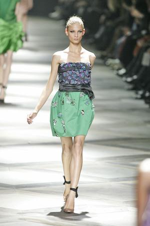 Показ Lanvin коллекции сезона Весна-лето 2009 года Prêt-à-porter - www.elle.ru - Подиум - фото 85412
