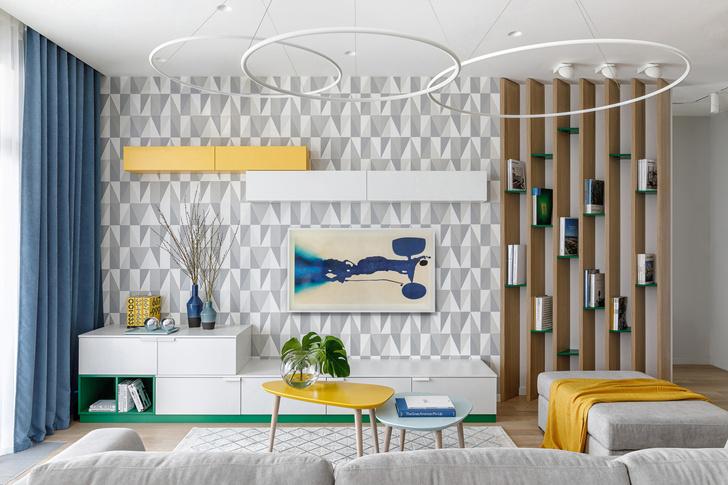 Солнечное настроение: квартира 120 м² в Москве (фото 5)
