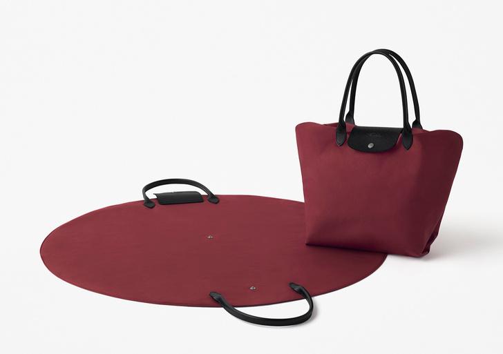 Новая коллекция сумок Nendo для Longchamp (фото 0)