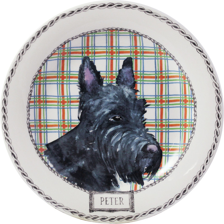 Настенная тарелка из коллекции Darling Dog, фарфор, роспись, Gien, www.gien.com, Дом Фарфора