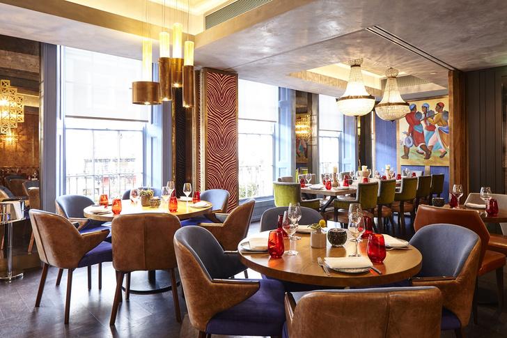 Ресторан OSH в Лондоне: проект Ирины Глик (фото 0)