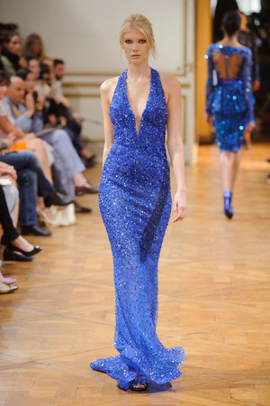 Показ Zuhair Murad коллекции сезона Осень-зима 2013-2014 года haute couture - www.elle.ru - Подиум - фото 556599