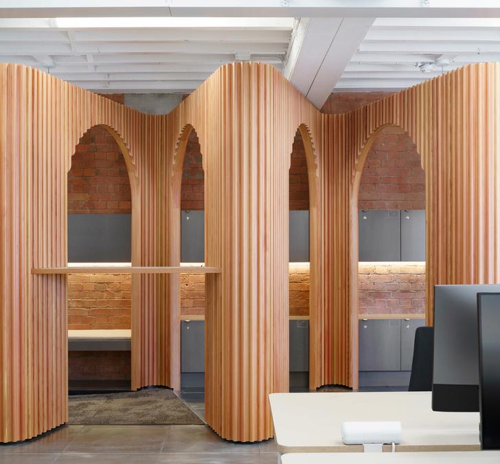 Новый офис Airbnb в Лондоне (фото 8)
