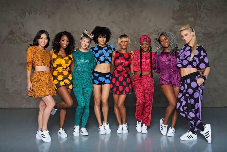 adidas Originals представил совместную коллекцию танцевального коллектива Baes и Фаррелла Уильямса