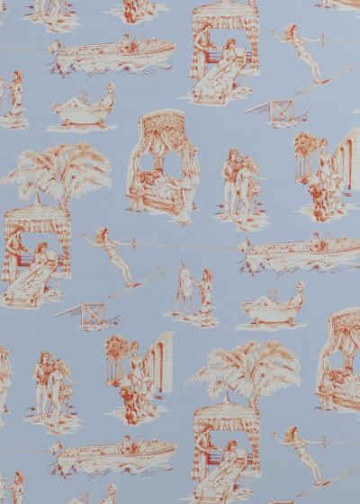 Новая коллекция обоев и текстиля Саши Бикофф (галерея 8, фото 4)