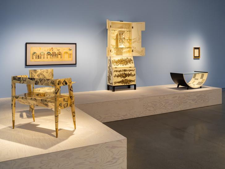 Выставка Fornasetti в Стокгольме (фото 6)