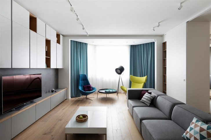 Квартира 150 м²: нескучный проект в скандинавском стиле (фото 16)