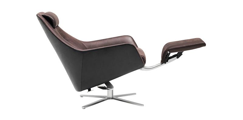 Кресло DS-277 с выдвижным изножьем, de Sede, www. desede.ch, салоны «Частная Коллекция», галереи Neuhaus.