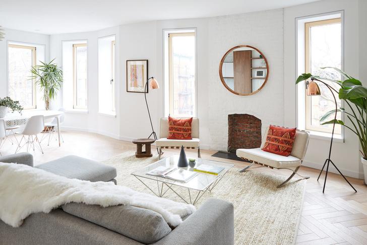 Больше света: квартира 218 м² в Бруклине (фото 3)