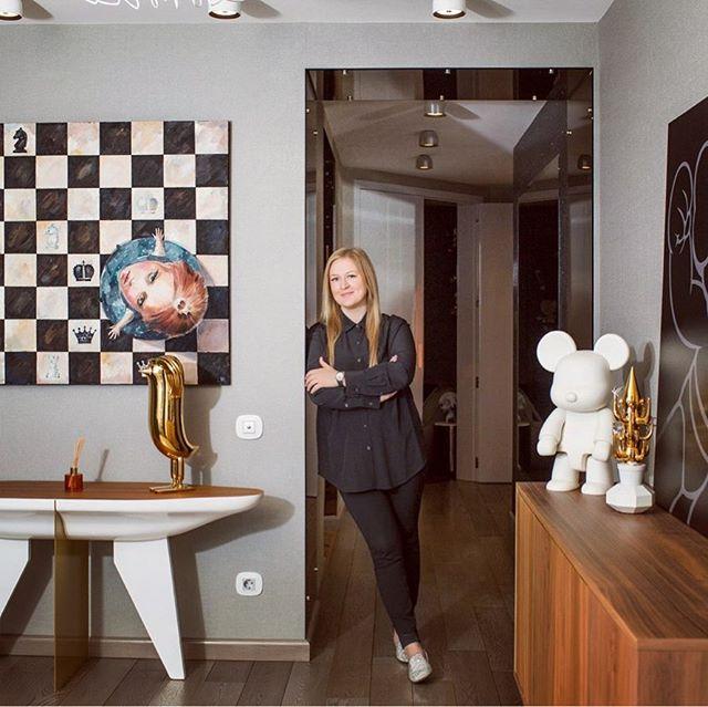 ELLE DECORATION в гостях у дизайнера Екатерины Елизаровой (фото 0)