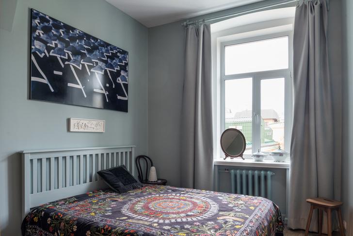 Квартира 80 м² в старомосковском стиле (фото 7)