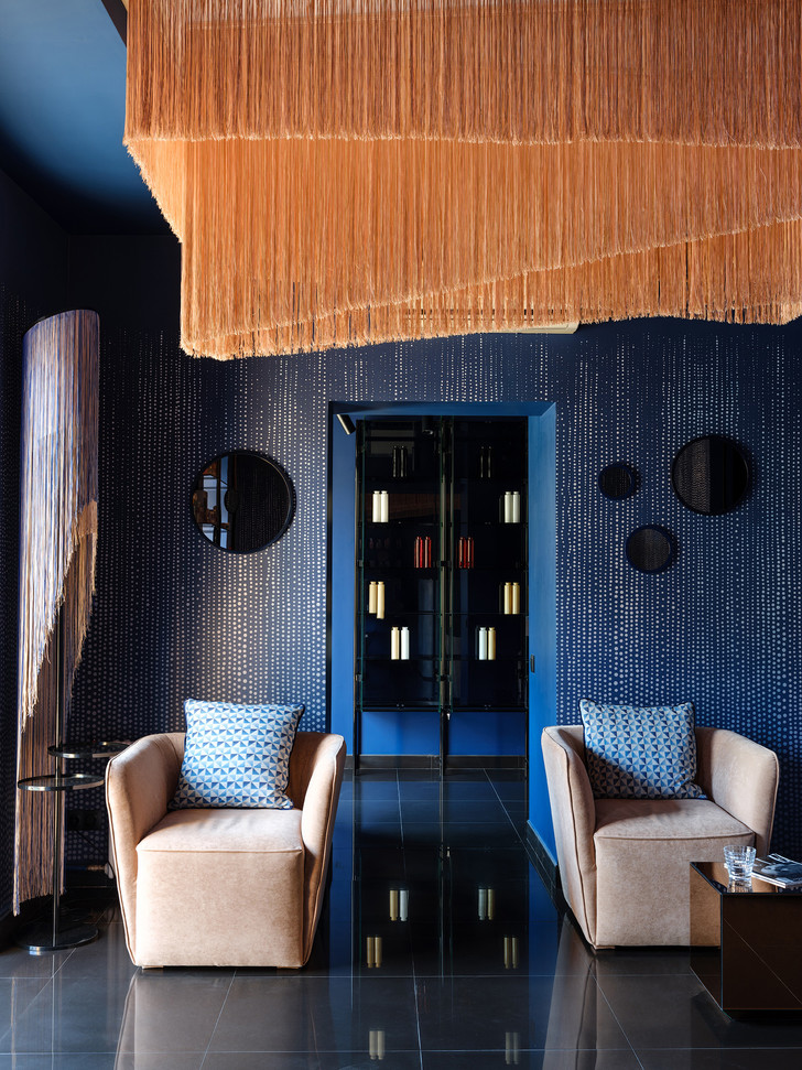 Салон красоты в стиле 60-х (фото 0)
