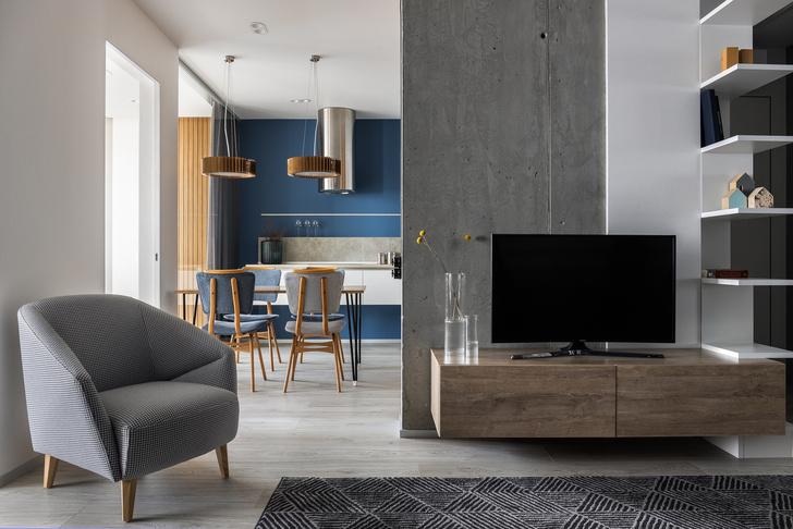 Яркая квартира 65 м² в Саратове с видом на Волгу (фото 0)