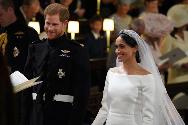 Свершилось! Принц Гарри и Меган Маркл стали мужем и женой (фото 10)