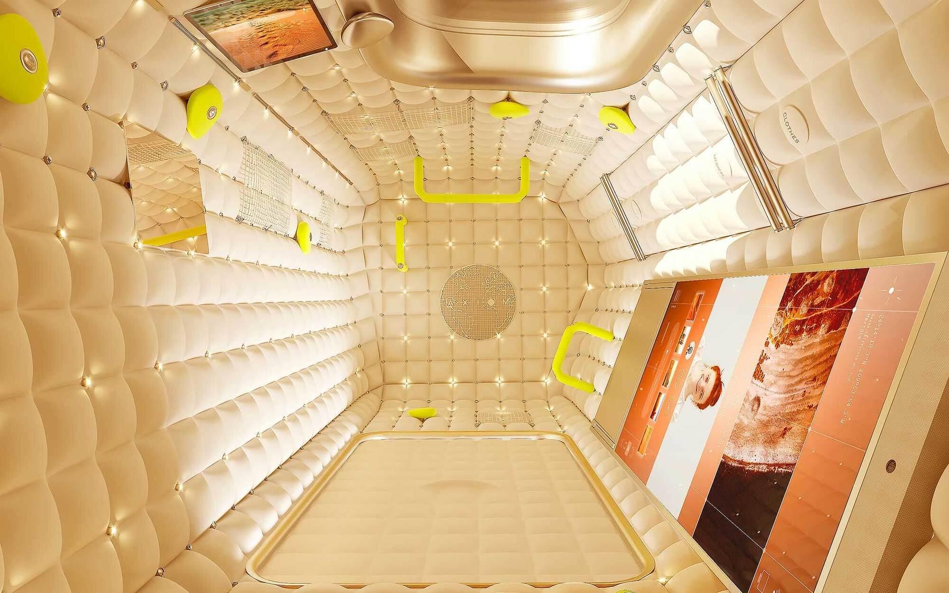 Просто космос: дизайн космической станции от Филиппа Старка (галерея 4, фото 2)