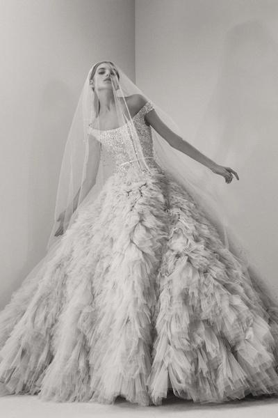 Пышные свадебные платья 2017