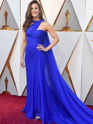 Роскошная Дженнифер Гарнер на красной дорожке «Оскара» (фото 1)