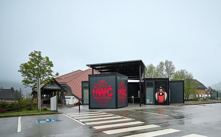 Топ-10 дизайнерских общественных туалетом мира (фото 21)