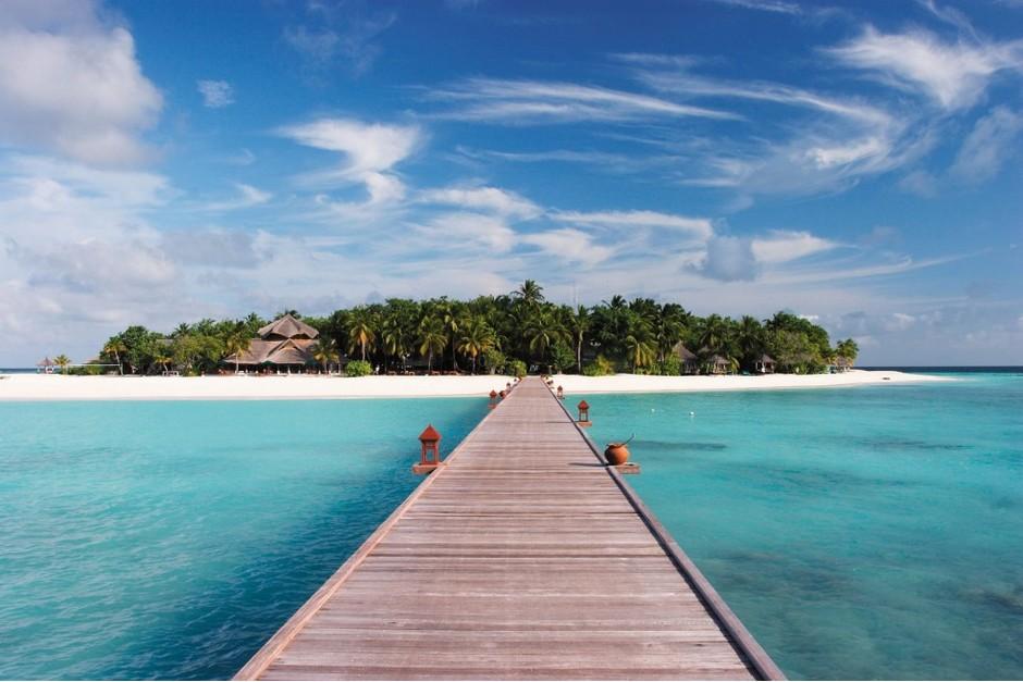 Отпуск на самом маленьком острове в мальдивах секс