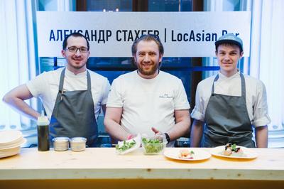 В Москве прошла пятая pop-up вечеринка гастрономической серии The Singleton (галерея 3, фото 0)