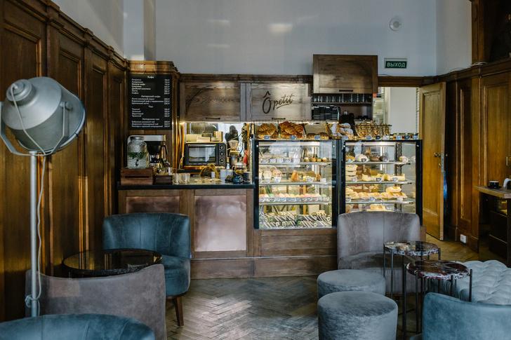 ÔPETIT на Невском: новая кофейня-кондитерская в историческом здании Санкт-Петербурга (фото 3)