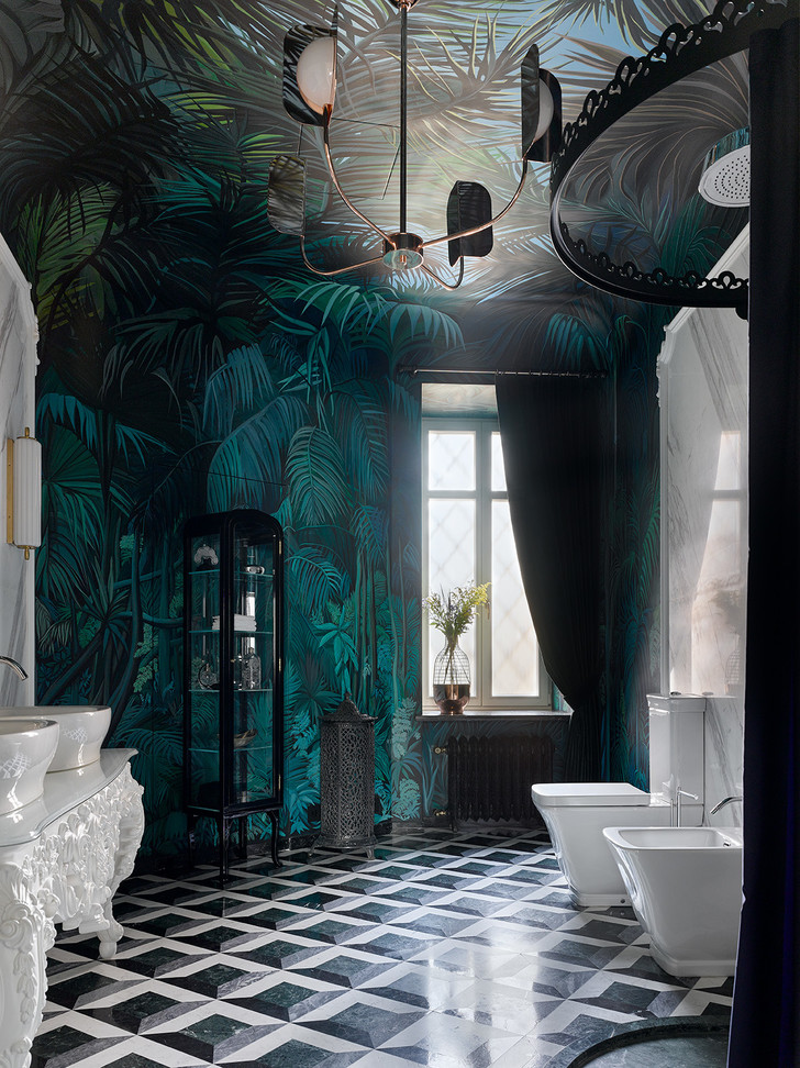Тренды в дизайне ванных комнат 2020 (фото 13)