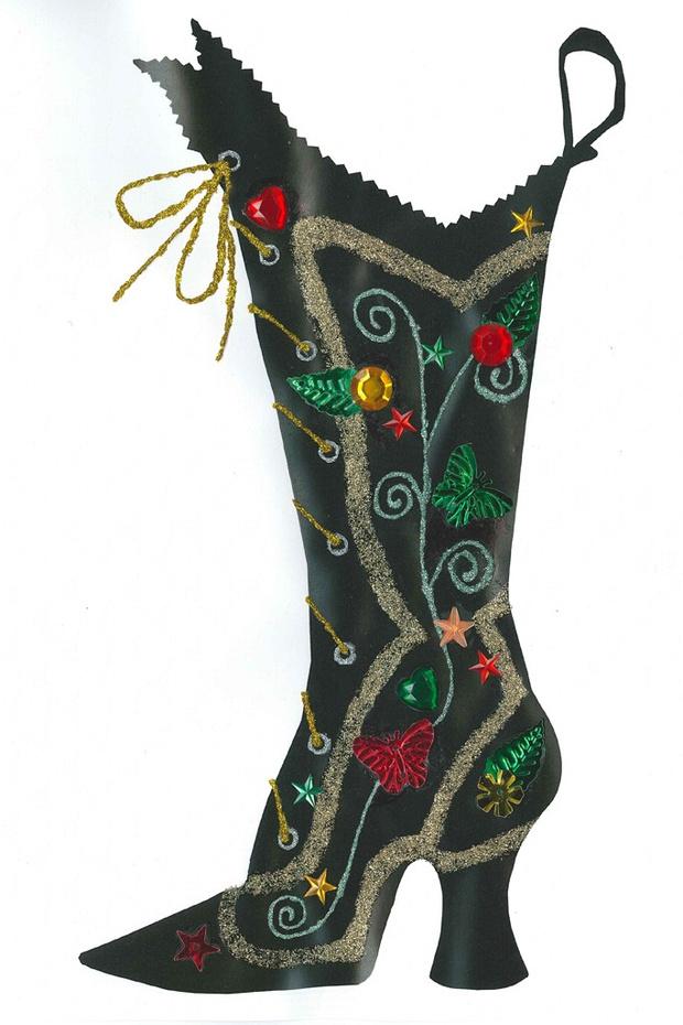 Рождественский чулок от Anna Sui