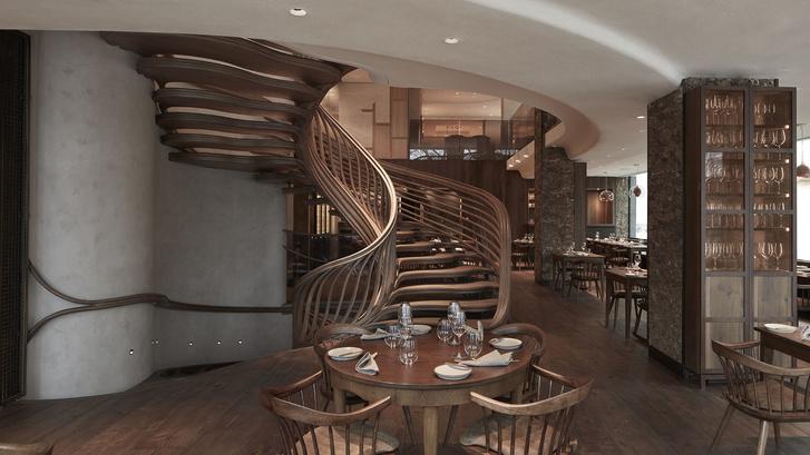 Интерьеры ресторана Hide Евгения Чичваркина (фото 6)