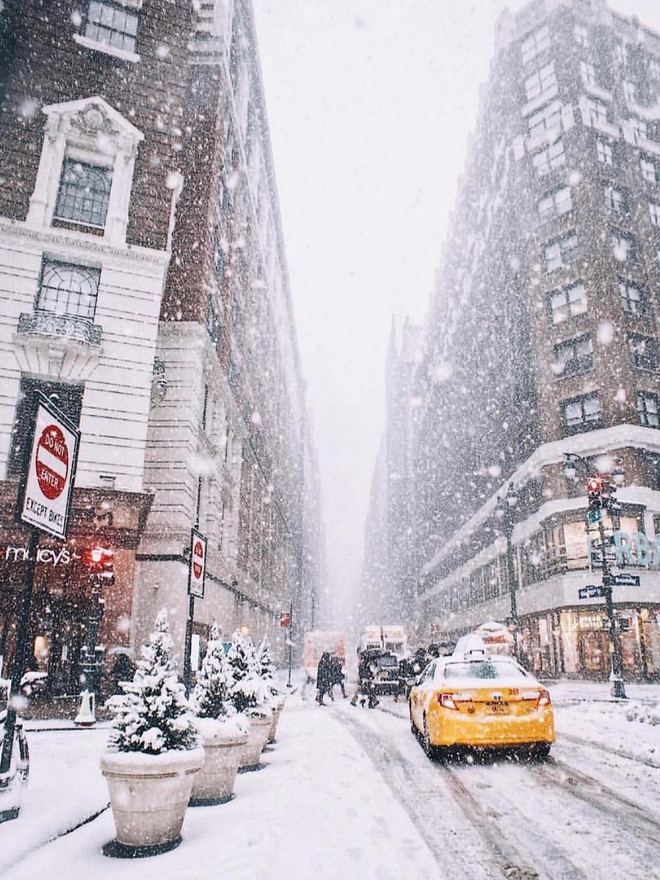 30 лучших фото рождественских Нью-Йорка, Парижа и Милана (фото 1)
