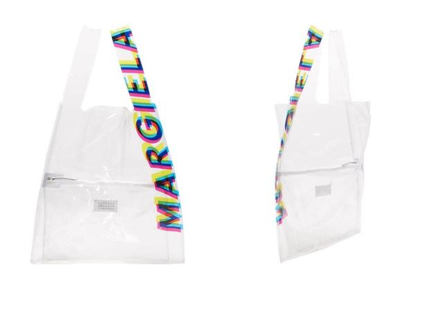 Transparent spring: прозрачная сумка Maison Margiela (фото 1)