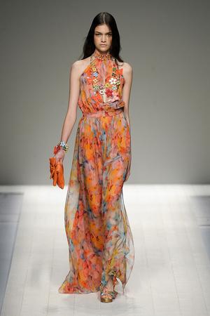 Показы мод Blugirl Весна-лето 2012 | Подиум на ELLE - Подиум - фото 1905