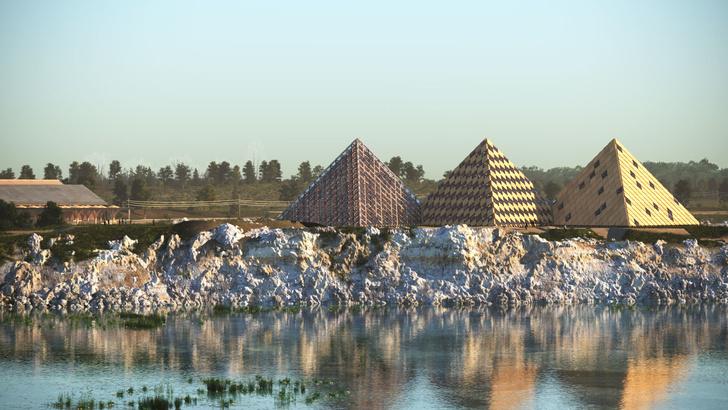 Вискарня в пирамидах по проекту Шигеру Бана (фото 3)