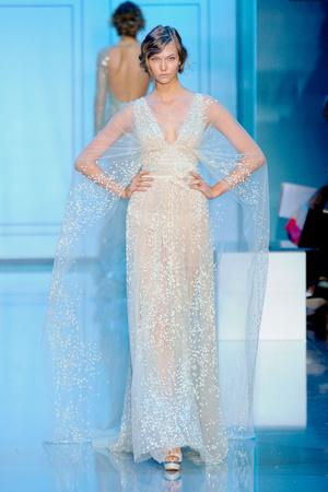 Показ Elie Saab коллекции сезона Осень-зима 2011-2012 года haute couture - www.elle.ru - Подиум - фото 278795
